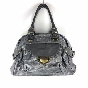 Olivia + Joy New York Gray Shoulder Handbag EUC